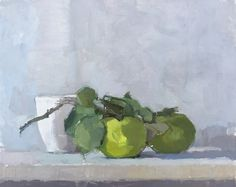 Sheila's Apples #still-life #contemporary #art #painting