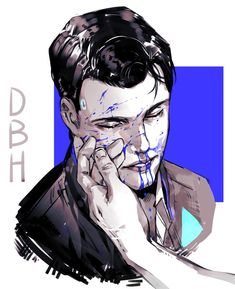 Detroit become human Connor By: @leks1404