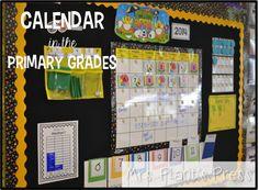 Calendar in the Primary Grades