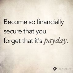 My financial goal. What's yours?