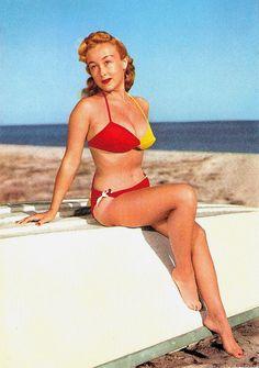 1950s bikini models