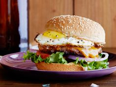Hangover cures: Breakfast Sausage and Egg Burger : This breakfast burger is ultra-easy to make and perfect comfort for the side effects of an overindulgent night. The sweet-and-spicy mayo will become your new best friend, delicious on just about any burger or grilled cheese.