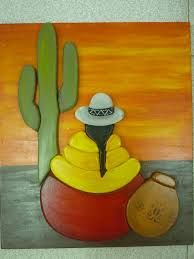 Resultado de imagen para coyas pinturas Cactus Painting, Fabric Painting, Painted Clay Pots, Painted Rocks, Art Péruvien, Mexican Paintings, Peruvian Art, Southwest Art, Mexican Folk Art
