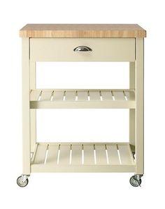 Kitchen Trolley Design, Ikea Kitchen Trolley, Butcher Block Kitchen Cart, Butcher Block Island, Ikea Kitchen Cabinets, B&q Kitchens, Kitchen Board, Kitchen Ideas, Kitchen Inspiration