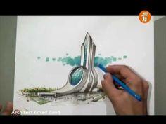 architect emad zand - sketch 10 - خلاقیت در معماری عمادالدین زند