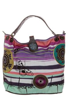 Desigual shopping bag - malva