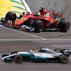#BrazilGP: Vettel vence em Interlagos Alemão Sebastian Vettel (Ferrari) venceu o Grande Prêmio do Brasil de Fórmula 1 neste domingo superando os finlandeses Valtteri Bottas (Mercedes) e Kimi Räikkönen (Ferrari) que completaram o pódio na segunda e terceira posições respectivamente.  Lewis Hamilton fez uma impressionante corrida. Largando dos boxes na última posição fez uma corrida de recuperação e conseguiu chegar em quarto lugar chegando a ameaçar o pódio de Raikkonen nas últimas voltas.  O…