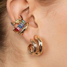 Ring Crystal Earrings 14.99 CAD Tassel Earrings, Crystal Earrings, Hoop Earrings, Fashion Earrings, Fashion Jewelry, Shirt Bag, Skirt Leggings, Shoes Heels Wedges, Jewelry Organization