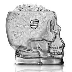 Fancy - Brainfreeze Glass Skull Ice Bucket