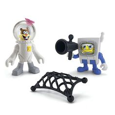 "Fisher-Price Imaginext SpongeBob SquarePants Figures 2-Pack - SpongeBob and Sandy - Fisher-Price - Toys ""R"" Us"