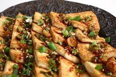 Pan fried tofu with spicy sauce (Dububuchim-yangnyeomjang) (Made! Make 1/2 to 3/4 of the sauce)