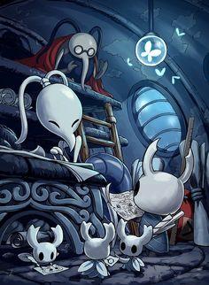 Сообщество Steam :: Hollow Knight Video Game Anime, Video Game Art, Dark Fantasy, Fantasy Art, Dark Souls, Character Art, Character Design, Team Cherry, Hollow Art