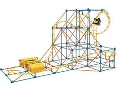 K'NEX Hyperspeed Hangtime Roller Coaster Building Set and thousands more of the very best toys at Fat Brain Toys. Blast off into intense roller coaster action!