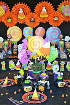 Fun and Fresh Kids Halloween Party