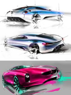 Concept Design Sketches by Mike Kim