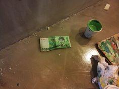 돈 만원권(Korean money)