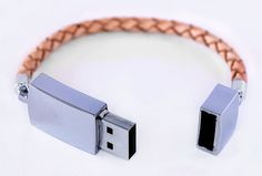 This piece of unique leather USB is one of the Scandinavian USB collection, which is created by.