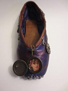 SteamPunk Decorated Pointe Shoe o.o.a.k. by PavlovasDogs on Etsy, $38.00