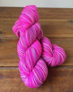 Hand dyed Blue Faced Leicester/Nylon yarn 4ply by ThimbleandPurl