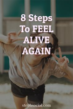 This Can Change Your Life! Get Off Auto-Pilot And Feel Alive Again! How to be happy. How to feel good. Self care ideas. Personal development. Self improvement tips. Life hacks. Intentional and mindful living tips. How to restart your life. How to live your best life. Living intentionally. Improve yourself. How to be happy on your own. How to get motivated. How to stay positive. How to improve your mental health. Wellness tips. Wellbeing tips. Improve wellbeing and wellness.