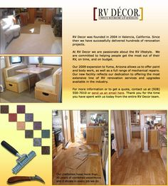 rv remodel page..some great ideas!!