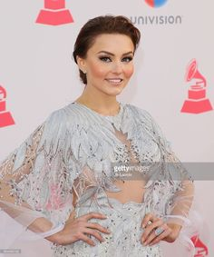 Angelique Boyer attends the 17th Annual Latin Grammy Awards on November 17, 2016 in Las Vegas, Nevada.
