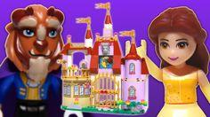 Enchanted Castle, Enchanted Rose, Motion Video, Stop Motion, Lego Duplo Sets, Beast's Castle, Frozen Sisters, Disney Princess Frozen, Lego Toys