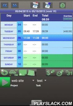 ATIPIC Free  Android App - playslack.com , ATIPIC allows you to :- Manage and plan tasks of your projects (manual or automatic planning) with Gantt chart on screen.- Record, very easily (stop/start button), time spent (Timesheet) on each task of your working day. Several reports are available to control spent time on projects, tasks, with weekly/monthly/yearly statistics.- Know your weekly or daily planning. Check if plan tasks match with real spent time.- Manage hourly cost by project and…