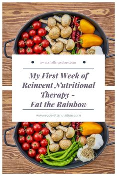My First Week of Reinvent Nutritional Therapy Programme - Challenge Clare Life Challenges, Eat The Rainbow, One Week, Health And Wellbeing, Bristol, How To Introduce Yourself, Therapy, Nutrition, Fit
