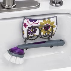 #3431 : : :  Sponge & dish Brush Holder : : : Drain away water from your sponge and cleaning brush to speed drying and minimize bacteria growth. Suction cups attach to any sink. Holds Princess House Specialty Non-Scratch Sponge (822) and Soap Dispensing Scrub Brush; sold separately : : :  $14.95 : :  Contact me to place an order : : lynnebeveridge@myprincesshouse.com