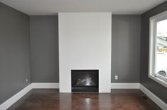 Master bedroom paint colors benjamin moore new and the winner is chelsea gray bm… - Modern Dining Room Colors, Paint Colors For Living Room, Living Room Grey, Living Rooms, Grey Bedroom Paint, Master Bedroom, Bedroom Decor, Benjamin Moore Chelsea Gray, Home Depot