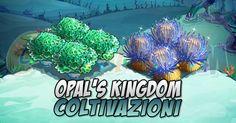 Opals Kingdom: Coltivazioni tempo stimato per la lettura di questo articolo 2 minuti  Ecco le coltivazioni da piantare e raccogliere nella Opals Kingdom! Abbiamo:  31 coltivazioni totali di cui:  3 esclusive per Early Access  7 coltivazioni da coltivare in acqua nellacqua (??? non chiedetelo a me!)  Torvate lelenco di tutte le Coltivazioni di Farmville qui:  Coltivazioni FarmVille    Coltivazioni esclusive Early Access:  Bubble Fish Crop  Livello minimo: 15  Matura in: 4 ore  Costa: 200…