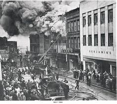 Downtown Salisbury MD 1944