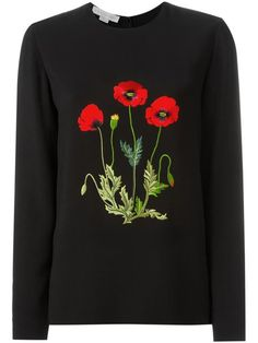 Shop Stella McCartney poppy embroidered sweatshirt in Vitkac from the world's best independent boutiques at farfetch.com. Shop 400 boutiques at one address.