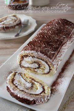 Rotolo Panna e Nutella, davvero irresistibile e con la video ricetta.