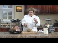 How to prepare a Baked Ham in Cola using NuWave Oven.