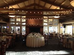 Check Out These Awesome Lights One Of Our Weddings Had NorthPointeHotelandConferenceCenter Realwedding