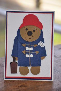 Crafty Cow Creations: paddington bear valentines day card