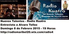 opinión-debate: Nuevos Talentos (08/02/15) Entrevista a Álvaro Tél...