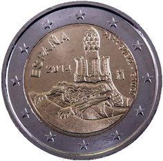 "Moneta Celebrativa ""Parco Güell"" Anno: 2014 Stato: Spagna"