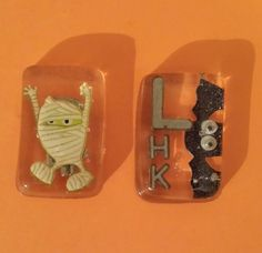 I am going to tell your Mummy! Halloween lead xray markers!