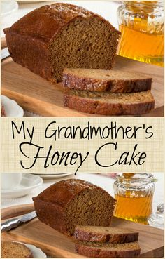 This is a treasured family recipe for honey cake that we think your family will love too!