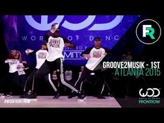 Groove2Musik – 1st Place | FRONTROW | World of Dance Atlanta 2015 | #WODATL15 - YouTube