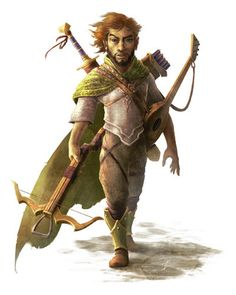 Gnome Bard - Pathfinder RPG PFRPG DND D&D d20 fantasy