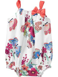 Butterly Bubble Rompers for Baby Product Image