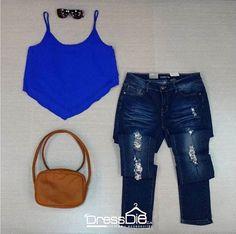Fresco y auténtico es este #outfit 💁🏻👚👜 que #DressDie tiene para ti... #fashiondress #ccpiedemonte