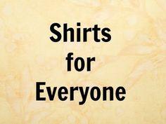 Mianzi Shirts are for Everyone!