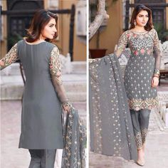 salwar kameez ethnic designer indian pakistani party wear freeship punjabi suit #Shoppingover #Salwarkameez