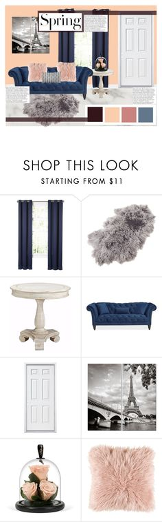 """spring room"" by p-hoebe-798 on Polyvore featuring interior, interiors, interior design, home, home decor, interior decorating, Saro, Surya, H&M and Balmain"