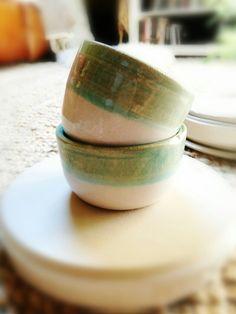 Small ceramic bowls #tryout #handmade #ceramics #cerámica